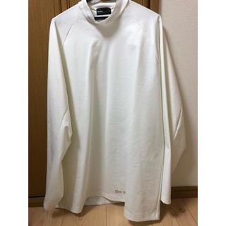 カラー(kolor)のkolor コットンポンチハイネックカットソー ホワイト(Tシャツ/カットソー(七分/長袖))