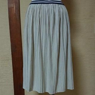 ベルーナ(Belluna)のプリーツスカート(ひざ丈スカート)