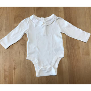 ベビーギャップ(babyGAP)のbaby GAP ピーターパン襟ロンパース  80(ロンパース)