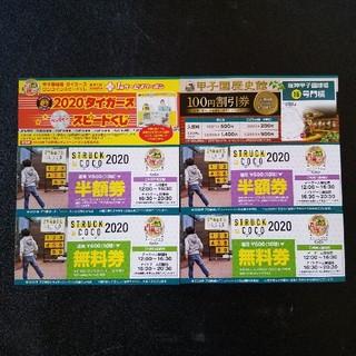 ハンシンタイガース(阪神タイガース)の2020年 甲子園お得クーポン券(野球)