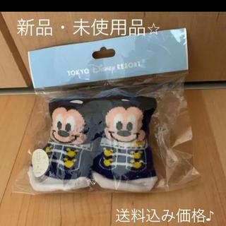 ディズニー(Disney)の【新品】ミッキー シューズ靴下 ディズニーリゾート(その他)