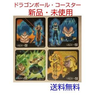 ドラゴンボール(ドラゴンボール)の牛角×ドラゴンボール★コースター4種類セット  新品  送料無料(キャラクターグッズ)
