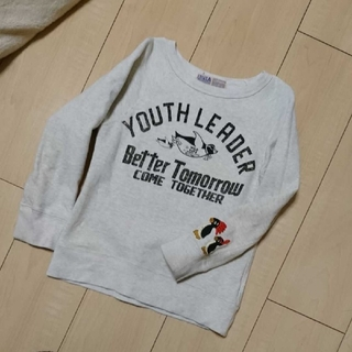 デニムダンガリー(DENIM DUNGAREE)のデニムダンガリー☆ペンギントレーナー  120センチ(Tシャツ/カットソー)