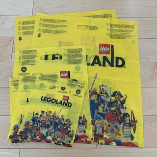 レゴ(Lego)のレゴランド  ショップ袋 6枚(遊園地/テーマパーク)