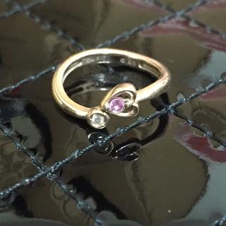 スタージュエリー(STAR JEWELRY)の ピンクサファイア付 ピンキーリング(リング(指輪))