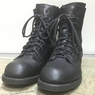ユリウス(JULIUS)のJULIUS ユリウス ミリタリーブーツ black(ブーツ)