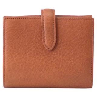 ムジルシリョウヒン(MUJI (無印良品))の新品 MUJI  ヌメシュリンク革ジャバラ2つ折財布 (財布)