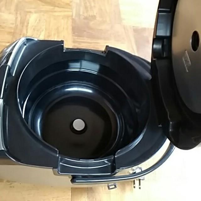 日立(ヒタチ)の日立IHジャー炊飯器 RZ―MC10J 極上炊き黒厚鉄釜 スマホ/家電/カメラの調理家電(炊飯器)の商品写真