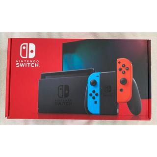 ニンテンドースイッチ(Nintendo Switch)のNintendo Switch Joy-Con ネオンブルー ネオンレッド 新品(家庭用ゲーム機本体)