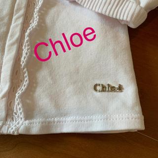 クロエ(Chloe)の⭐️クロエ⭐️ベビーカーディガン2  90(カーディガン)