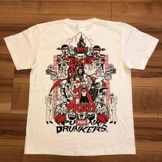 パンクドランカーズ(PUNK DRUNKERS)の【稀少‼️新品未使用】パンクドランカーズ 思い出 TEE Mサイズ(Tシャツ/カットソー(半袖/袖なし))