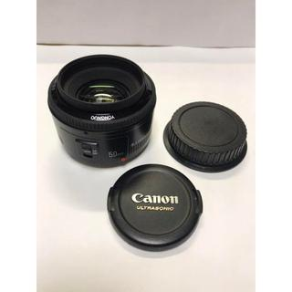 オリンパス(OLYMPUS)のYONGNUO 50mm F1.8 キャノン CANON EFマウント★186(レンズ(単焦点))