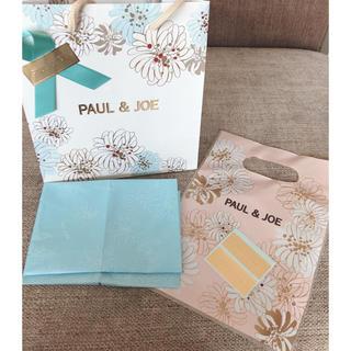 ポールアンドジョー(PAUL & JOE)のポールアンドジョー ショッパー ショップ袋 シール 包み紙 リボン(ショップ袋)