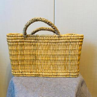 ネストローブ(nest Robe)のかごバッグ バスケット ピクニックバスケット 北欧 ナチュラル(かごバッグ/ストローバッグ)