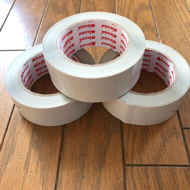 MIKASA(ミカサ)のミサカラインテープ3本 スポーツ/アウトドアのスポーツ/アウトドア その他(その他)の商品写真