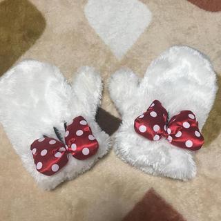 ディズニー(Disney)のミニーちゃん 手袋(手袋)