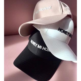 ハニーミーハニー(Honey mi Honey)のHONEY MI HONEY キャップ ピンク(キャップ)