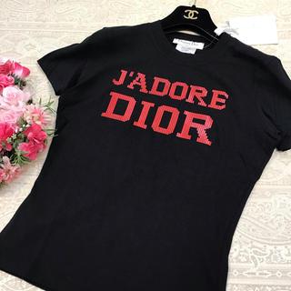クリスチャンディオール(Christian Dior)のディオール♡ロゴ Tシャツ♡ブラック(Tシャツ(半袖/袖なし))