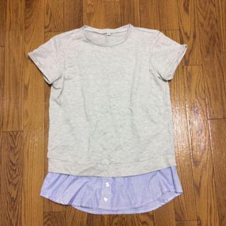 【みかん様用】Tシャツ 授乳服 かわいい おしゃれ 半袖 チュニック セット(マタニティトップス)