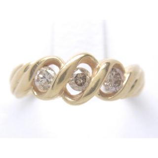 K18 合計0.35ct 天然 ダイヤ リング(リング(指輪))