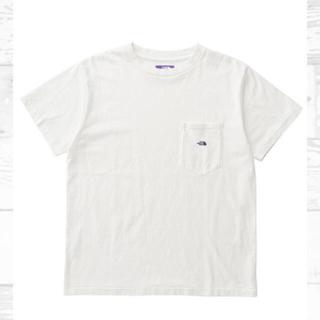 ナナミカ(nanamica)の新品未使用 ノースフェイスパープルレーベル  7ozポケットT womens M(Tシャツ/カットソー(半袖/袖なし))
