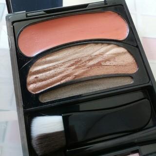 オーブクチュール(AUBE couture)のオーブクチュール ブラシひと塗りシャドウN16オレンジ系(アイシャドウ)