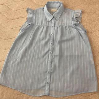 レピピアルマリオ(repipi armario)のレピピ爽やかノースリーブシャツ(シャツ/ブラウス(半袖/袖なし))