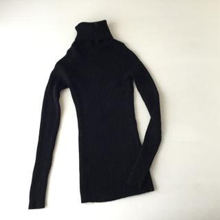 ムジルシリョウヒン(MUJI (無印良品))の無印良品 2020年製 首がチクチクしないニット M(ニット/セーター)