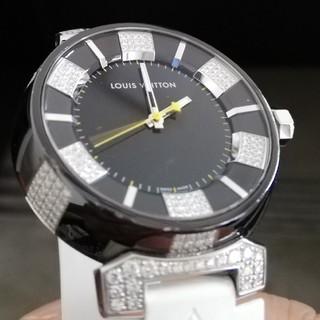 ルイヴィトン(LOUIS VUITTON)のルイヴィトンタンブールダイヤ(腕時計(アナログ))