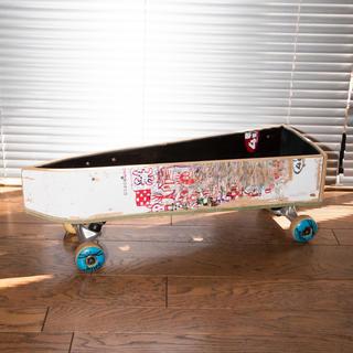 アベイシングエイプ(A BATHING APE)のスケートボードプランター アレクサンダーリーチャン トレー ボックス インテリア(インテリア雑貨)