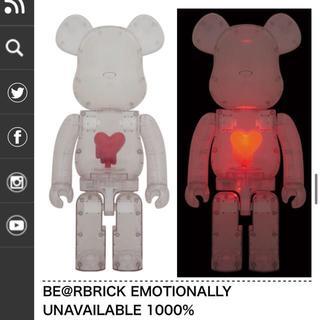 メディコムトイ(MEDICOM TOY)のBE@RBRICK EMOTIONALLY UNAVAILABLE 1000% (その他)