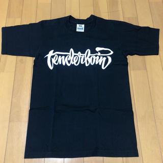 テンダーロイン(TENDERLOIN)のTENDERLOIN テンダーロイン 17SS ロゴペイント Tシャツ 黒 S(Tシャツ/カットソー(半袖/袖なし))