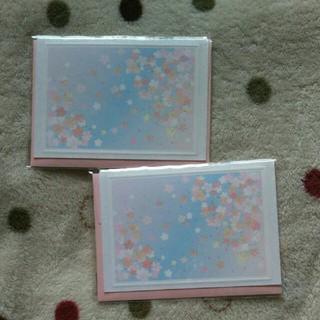 桜カード 便箋(カード/レター/ラッピング)