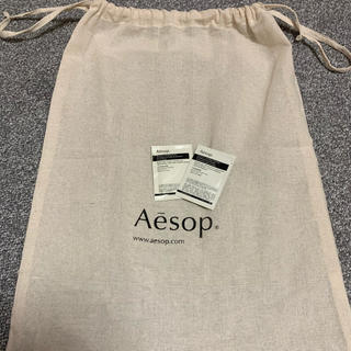 イソップ(Aesop)のイソップ 布袋 ボディスクラブ、ボディクレンザー サンプル付き(ボディスクラブ)