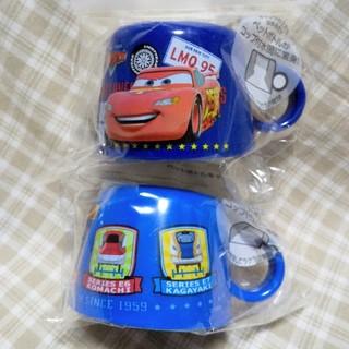タカラトミー(Takara Tomy)の2個セット ペットボトルキャップコップ カーズ Cars プラレール 新幹線(弁当用品)