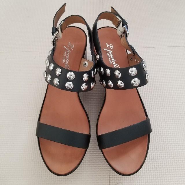 SHIPS(シップス)のスタッズ サンダル 38 レディースの靴/シューズ(サンダル)の商品写真