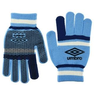 アンブロ(UMBRO)の【新品】アンブロ UMBRO 大人用 手袋 ニットグローブ SBNV(その他)