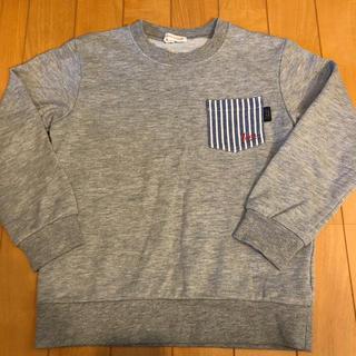 サンカンシオン(3can4on)のキッズ ボーイズ  トレーナー 120 グレー サンカンシオン しまむら(Tシャツ/カットソー)