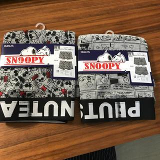 スヌーピー(SNOOPY)の新品未使用 スヌーピー ボクサーブリーフ  前とじ L2枚セット(ボクサーパンツ)