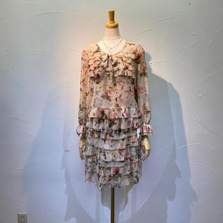 インゲボルグ ブラウス&スカートセット 定価6万9300円 数回の着用程度❗️
