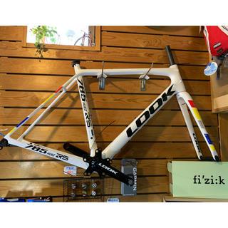 ルック(LOOK)のLOOK 785ヒュエズRS 軽量リムブレーキフレーム ZED2クランク+BB付(自転車本体)