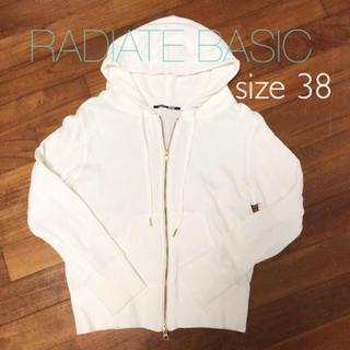 SCOT CLUB - RADIATE BASIC パーカー 38 ホワイト