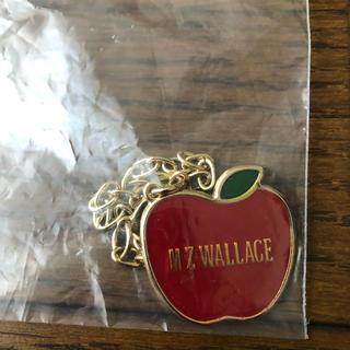 エムジーウォレス(MZ WALLACE)のキーホルダー  オリジナルアップルチャーム(キーホルダー)