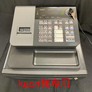 CASIO - レジ CASIO カシオ NL-200-BK  黒 美品‼︎
