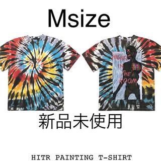 ナイキ(NIKE)のtravis scott HITR PAINTING T-SHIRT M Tee(Tシャツ/カットソー(半袖/袖なし))
