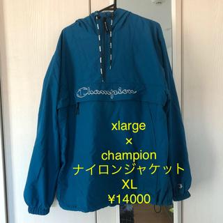 XLARGE - xlarge  ×  champion ナイロンジャケットxl
