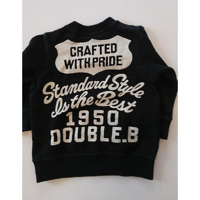 DOUBLE.B(ダブルビー)のベビー 女の子 トレーナー キッズ/ベビー/マタニティのベビー服(~85cm)(トレーナー)の商品写真