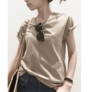 アパルトモンドゥーズィエムクラス(L'Appartement DEUXIEME CLASSE)のL'Appartement REMI RELIEF Compact Tシャツ(Tシャツ(半袖/袖なし))