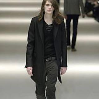 ディオールオム(DIOR HOMME)のレア Dior homme ディオールオム 04AW ウールコート 48 エディ(チェスターコート)