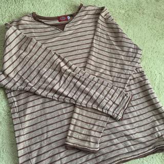 ディッキーズ(Dickies)のTシャツ / ボーダー(Tシャツ/カットソー(七分/長袖))